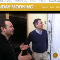CBS Sunday Morning segment featuring our technology